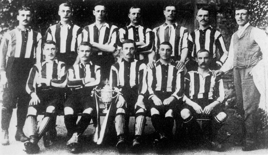 Old Notts County Soccer Team