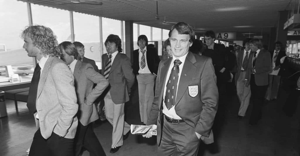 Bobby Robson Traveling With Ipswich