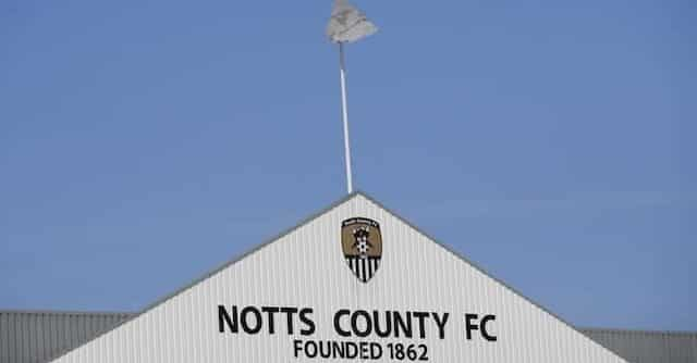 the roof of notts county football stadium