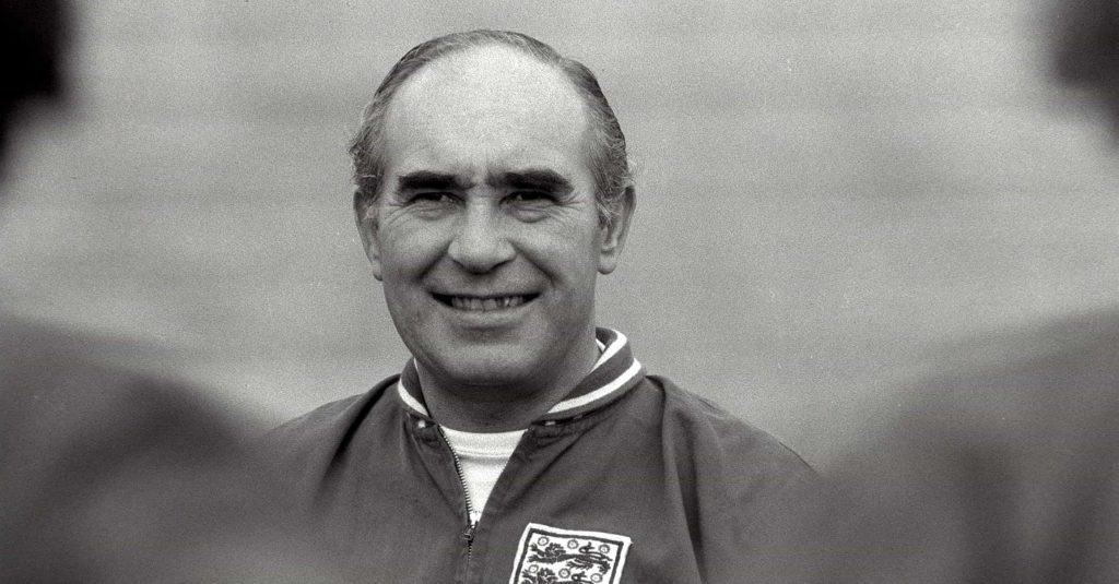Alf Ramsey Training The England world Cup Team Of 1966