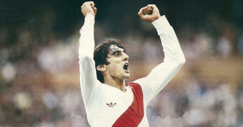 Enzo-Francescoli - Uruguayan And River Plate Soccer Player