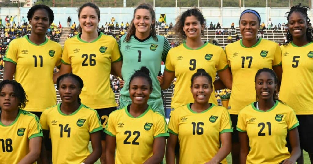 jamaica womens soccer team qualifing for world cup in france