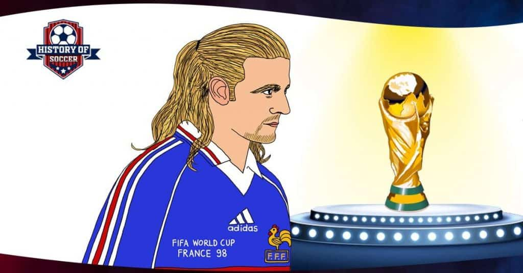 Emmanuel Petit French Soccer Player And World Cup Winner